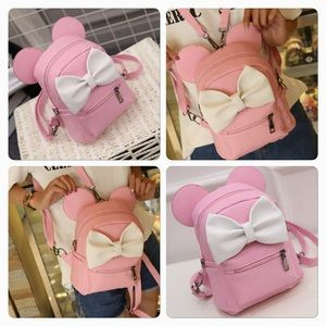 Pink Minnie Mouse's Backpack